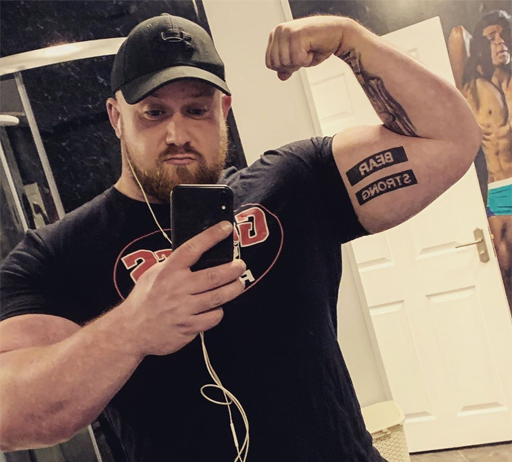 """Meet Chris """"Big Bear"""" McNaghten, the openly gay Northern Ireland strongman who recently attended his first Pride event and is featured in the new BBC documentary, My First Pride."""