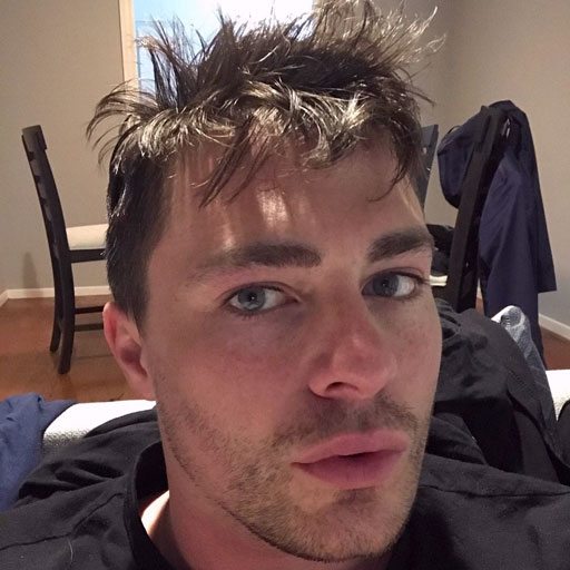 """Colton Haynes says worrying whether or not he """"looked hot"""" in Instagram posts was a """"complete waste"""" of time."""