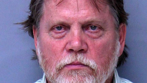 Frederic Sterry Smith, 62, of St. Augustine, Florida, was arrested and charged with simple battery after ripping up his restaurant bill and shoving it down the female manager's blouse.