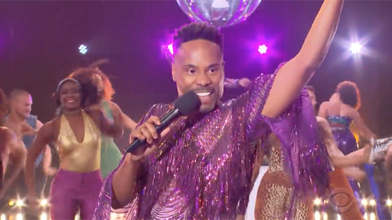Billy Porter sings 'I Will Survive' on The Late Late Show with James Corden