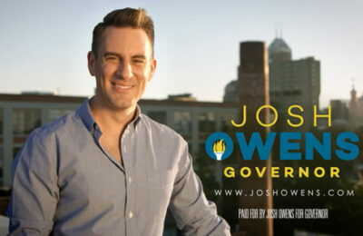 Indiana business man Josh Owens has announced his bid to become the first openly gay governor of Indiana