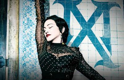 Matt Rettenmund's front row ticket to Madonna's Madame X concert