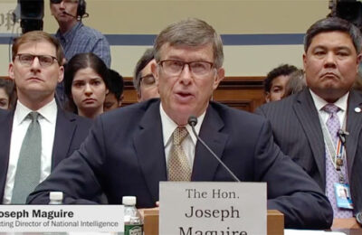 Acting Director of National Intelligence Joseph Maguire