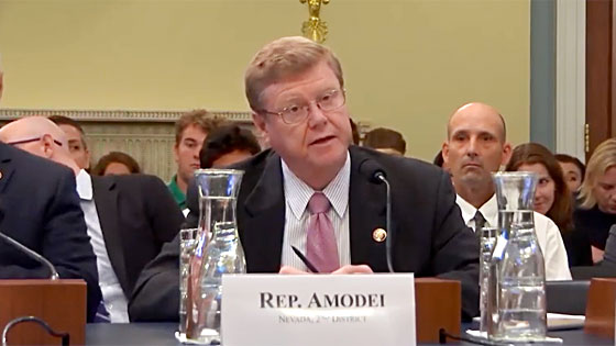 GOP Rep. Mark Amodei is first House Republican to support impeachment inquiry