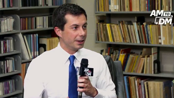 Pete Buttigieg says he had a 'grumpy moment' when he criticized the LGBT media for calling him 'not gay enough....'
