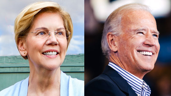 Sen. Elizabeth Warren surges past former Vice President Joe Biden in latest Iowa poll