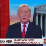 Former Massachusetts Gov. Bill Weld says Donald Trump's pressure on Ukraine to investigate Joe Biden constitutes treason.