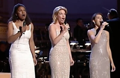 Audra McDonald, Marin Mazzie and Judy Kuhn (screen capture)