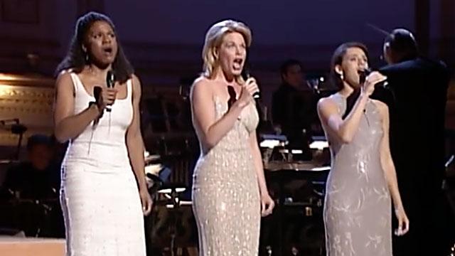 Audra McDonald, Marin Mazzie and Judy Kuhn (screen capture)