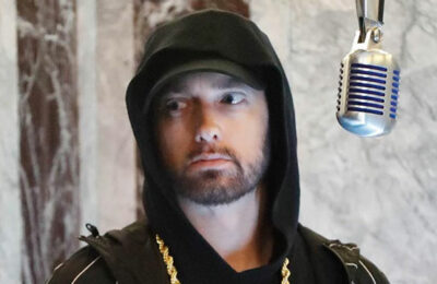 15-time Grammy Award winner Eminem (via Instagram)
