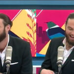 Host Ryan Bridge was a bit flustered after being outed on the air (screen capture)