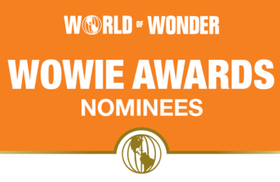 The logo for the 2019 World of Wonder WOWie Awards