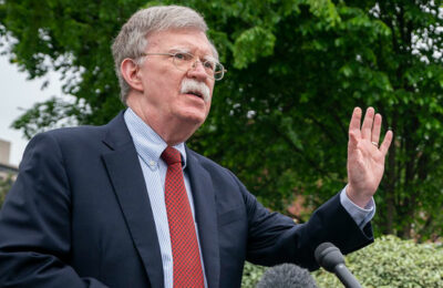 Former National Security Adviser John Bolton (image via White House - public domain)