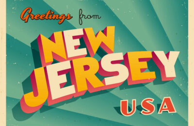 Image reading 'Greetings from New Jersey'