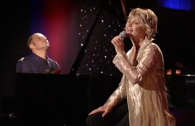"Olivia Newton-John sings Jim Brickman's hit song ""Valentine"""