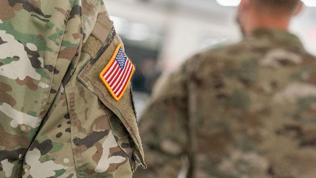 Photo of U.S. military service member