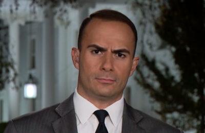 Screen capture of CNN White House correspondent Boris Sanchez