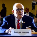 Donald Trump's personal lawyer, Rudy Giuliani