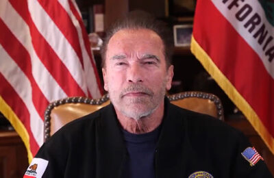 Arnold Schwarzenegger compares Trump supporters to Nazis in Twitter message