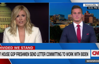 CNN anchor Pamela Brown and Rep. Madison Cawthorn