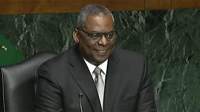 Secretary of Defense Lloyd Austin
