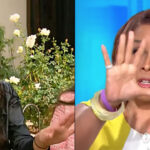 Miya Ponsetto gives Gayle King 'the hand'