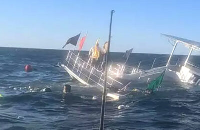 The gay party boat in Puerto Vallarta sank on New Year's Eve with 60 passengers onboard