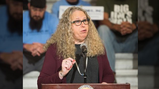 Dr. Rachel Levine could become the first transgender federal official confirmed by the Senate.