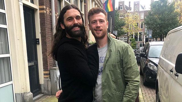 Queer Eye star Jonathan Van Ness with new husband Mark