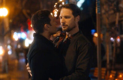 Haaz Sleiman and Michael Cassidy in 'Breaking Fast'
