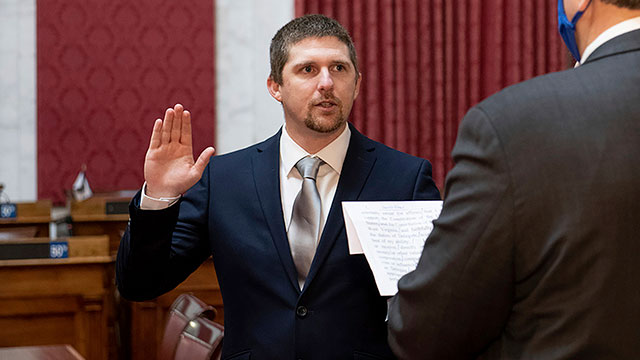 West Virginia lawmaker resigns after taking part in Capitol invasion