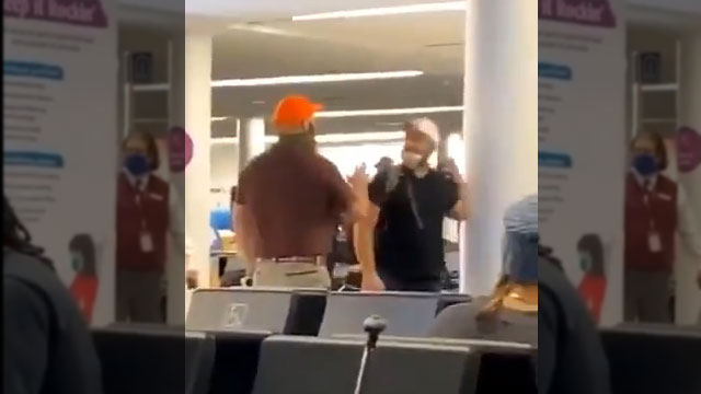 Insurrectionist loses his shit when told he's on 'No-Fly' list and can't board his plane