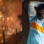 The home of adult performer Matthew Camp was destroyed in an arson attack he believes was a hate crime