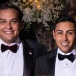 George Santos and his fiancé at Mar-a-Lago