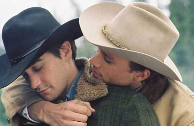 Screen capture from Brokeback Mountain
