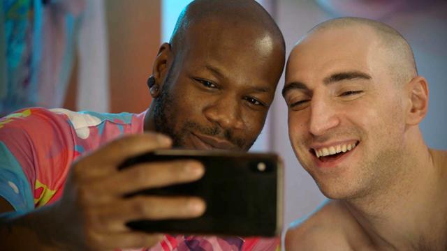 Porn stars Bishop Black and Kayden Gray