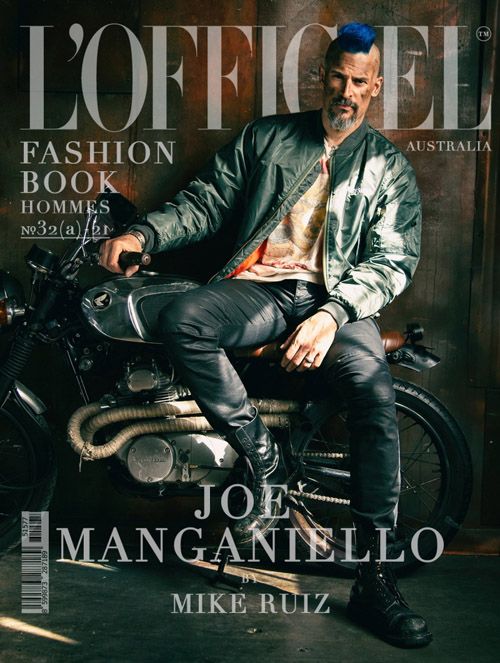 Joe Manganiello covers L'Homme Magazine