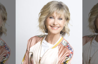 International pop star Olivia Newton-John