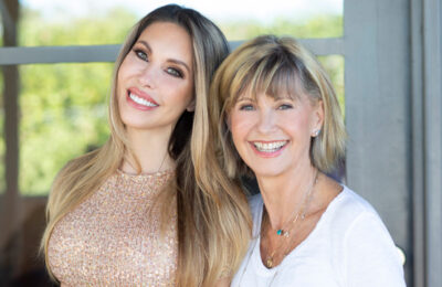 Olivia Newton-John and daughter Chloe Lattanzi