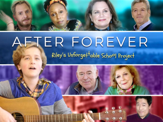 The creators of the acclaimed Amazon Video series 'After Forever' have released a special episode, 'Riley's Unforgettable School Project'