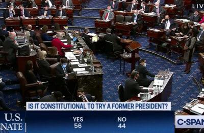 U.S. Senate votes that second impeachment of Donald Trump is constitutional