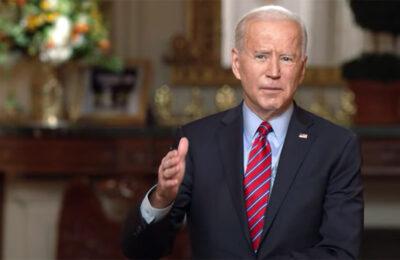 President Joe Biden speaks with Norah O'Donnell of CBS News