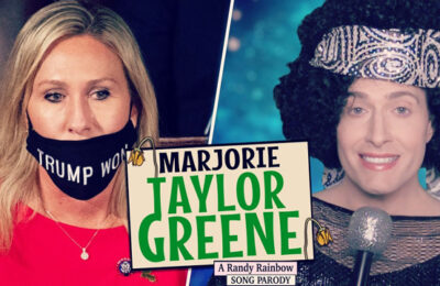 Randy Rainbow skewers QAnon Rep. Marjorie Taylor Greene in his latest parody song