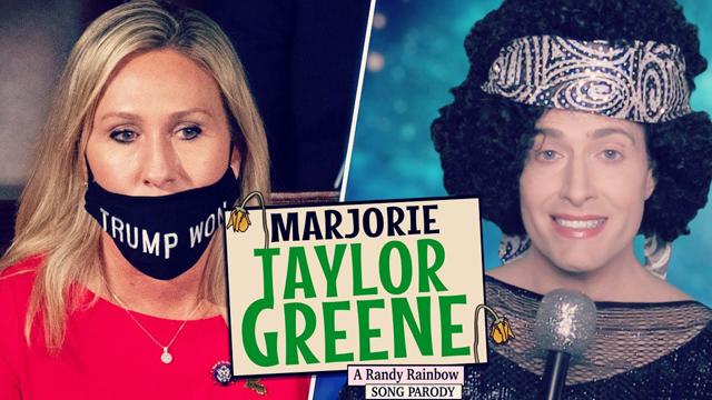 Randy Rainbow skewers QAnon Rep. Marjorie Taylor Greene in his latest parody song