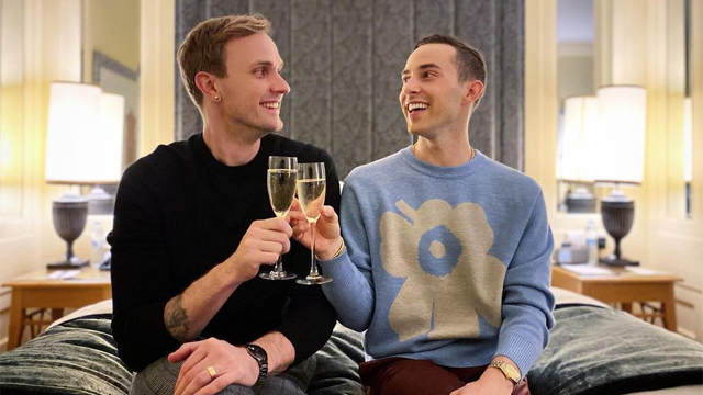Olympic bronze medalist Adam Rippon has announced he and his longtime boyfriend have become engaged