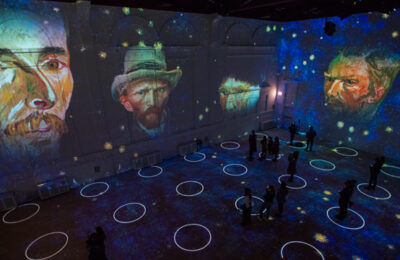 Immersive Van Gogh (photo: Michael Brosilow)