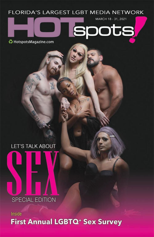 The cover of Hotspots Magazine