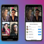 Up to four people can now take part in a public video chat on Instagram