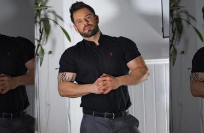 Fitness trainer Marc Burgum