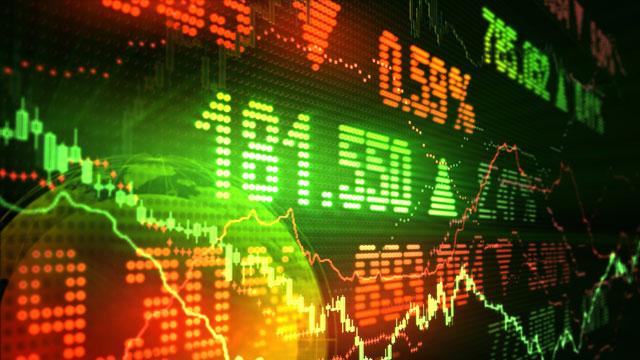 Image of stock market data